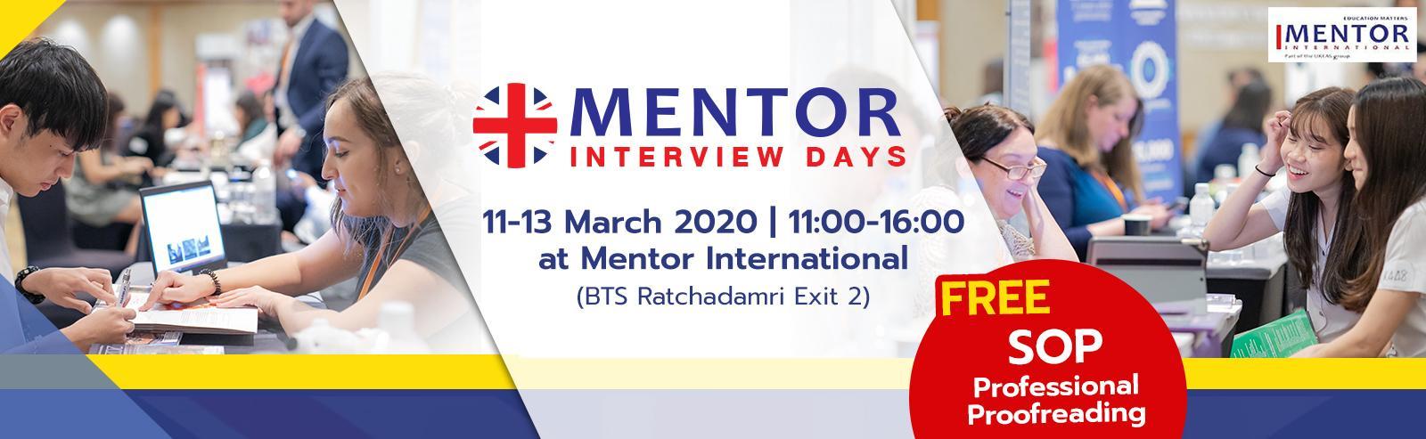 UK Education Fair 2020 งานแนะแนวศึกษาต่อสหราชอาณาจักรที่ใหญ่ที่สุดในประเทศไทย จาก Mentor International ที่รวบรวมกว่า 40 สถาบันชั้นนำจากประเทศอังกฤษ ซึ่งเเหมาะสำหรับผู้ที่สนใจหรือกำลังวางแผนศึกษาต่อในสหราชอาณาจักร ในระดับมัธยมศึกษา ปริญญาตรี ปริญญาโท และปริญญาเอก ลงทะเบียนได้แล้ววันนี้ ฟรีตลอดทั้งงาน