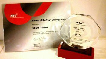 UKEAS榮獲INTO大學聯盟年度最佳夥伴獎!!