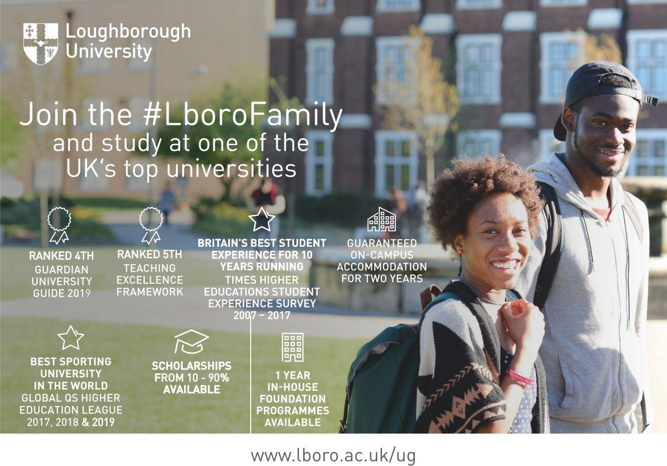 Fully-Funded PhD Scholarships at Loughborough University